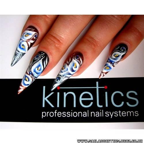 Advanced Nail Art Workshop.One-Stroke